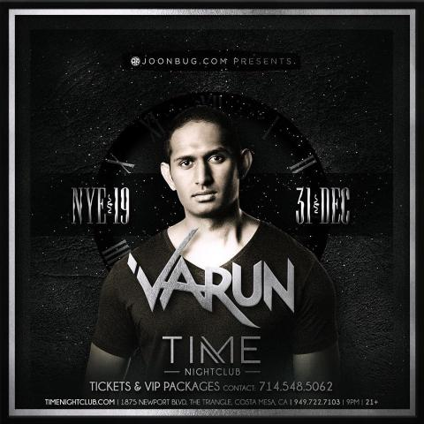 Varun @ Time Nightclub NYE